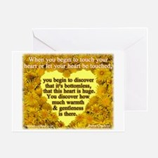 'Courage' Greeting Card