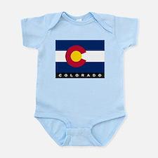 Colorado State Flag Infant Bodysuit