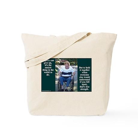 'True Strength' Tote Bag