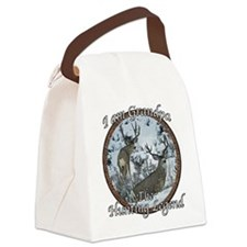 Grandpa hunting legend Canvas Lunch Bag