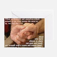 'True Strength' Greeting Card