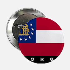 """Georgia State Flag 2.25"""" Button"""