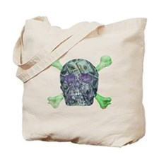 Skull money Tote Bag