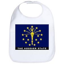 Indiana State Flag Bib