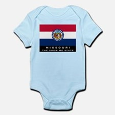 Missouri State Flag Infant Bodysuit