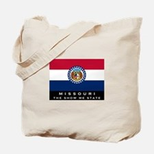 Missouri State Flag Tote Bag