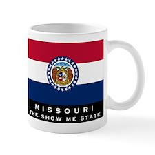 Missouri State Flag Small Mug