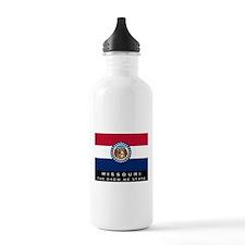 Missouri State Flag Water Bottle