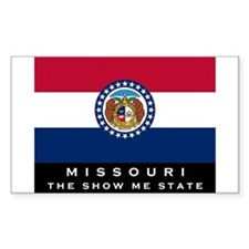 Missouri State Flag Decal