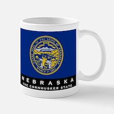 Nebraska State Flag Mug