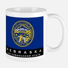 Nebraska State Flag Small Small Mug