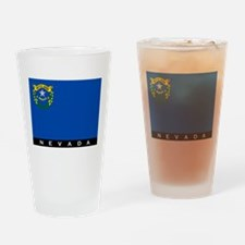 Nevada State Flag Drinking Glass