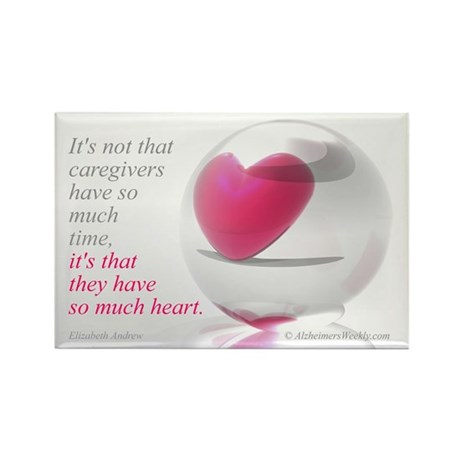 'So Much Heart' Rectangle Magnet
