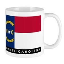 North Carolina State Flag Mug