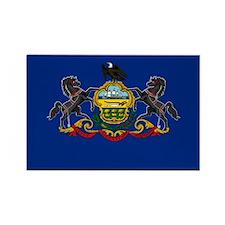 Pennsylvania State Flag Rectangle Magnet