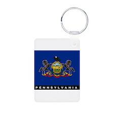 Pennsylvania State Flag Keychains