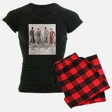 1928 Flapper Fashion Pajamas