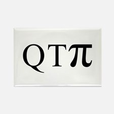 QTpi (Cutie Pie) Rectangle Magnet