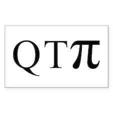 QTpi (Cutie Pie) Rectangle Decal