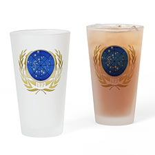 UFP Gold Logo Drinking Glass