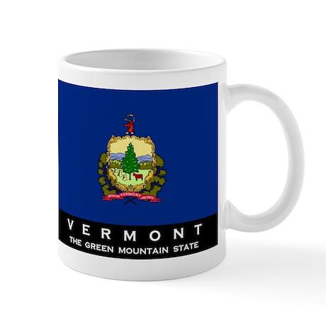 Vermont State Flag Mug