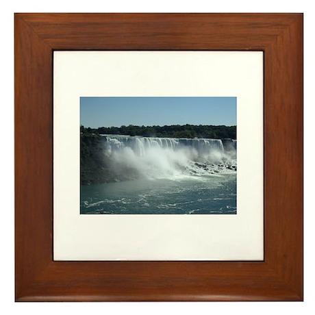America Niagara Falls Framed Tile