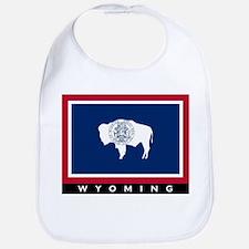 Wyoming State Flag Bib