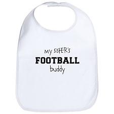 My Sisters Football Buddy Bib
