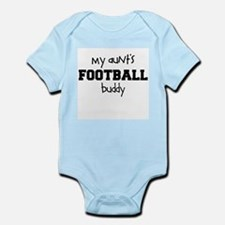 My Aunts Football Buddy Baby Bodysuit