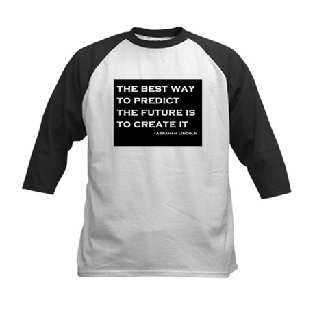 Abraham Lincoln Quote Kids Baseball Jersey