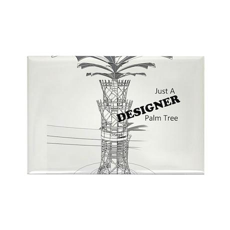 Designer Trees Rectangle Magnet