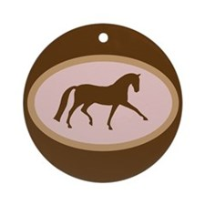 Cute Extended trot Ornament (Round)