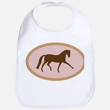 Cute Hanoverian horse Bib