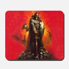 Death's End Mousepad Red
