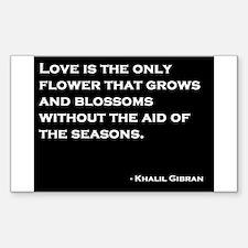 Khalil Gibran Quote Decal
