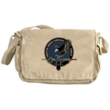 SAD Unit Crest Messenger Bag
