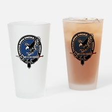 SAD Unit Crest Drinking Glass