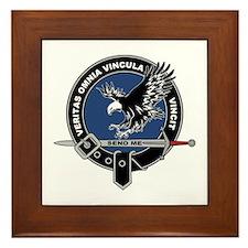 SAD Unit Crest Framed Tile