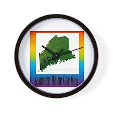SMGM Logo Artwork Wall Clock