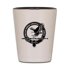 SAD Unit Crest B-W Shot Glass