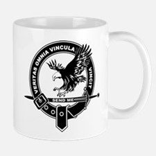 Sad Unit Crest B-W Mug Mugs