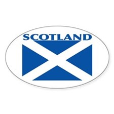 Scotland Flag: St. Andrew's Decal