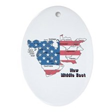New Middle east Oval Ornament