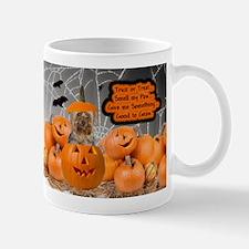 Yorkie Halloween (Puppy Cut) Small Small Mug