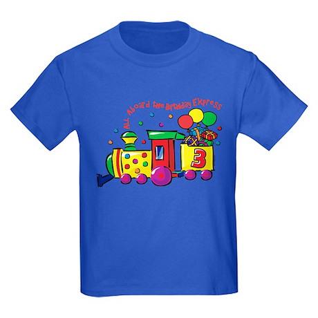 Birthday Express 3rd Kids Dark T-Shirt