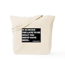 George Eliot Quote Tote Bag