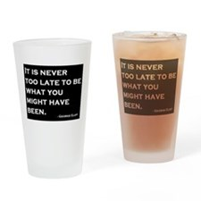 George Eliot Quote Drinking Glass
