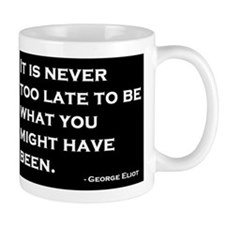 George Eliot Quote Mug