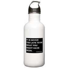 George Eliot Quote Water Bottle