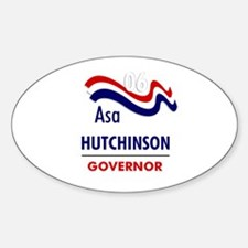 Hutchinson 06 Oval Decal